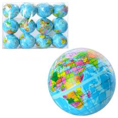 М'яч дитячий Фомовий MS 0241-1 (1уп/12шт) Глобус