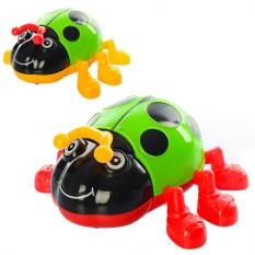 Заводна іграшка 618-8 Божа корівка, в кульку