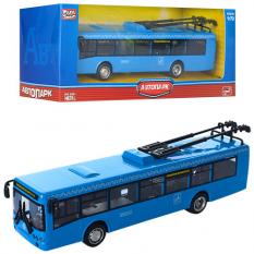 Тролейбус 6407 E метал, інерційний, в коробці
