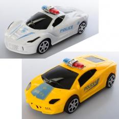 Машинка 333-2 інер-я, поліція, 2віда (2цвета), в кульку