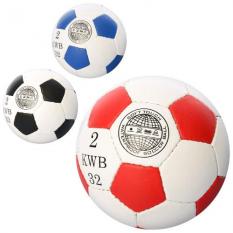 М'яч футбольний 2500-20AB-MINI 3 кольори, в кульку