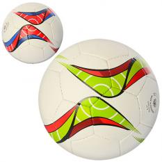 М'яч футбольний 2500-30AB размер5, ПУ, ручна робота, 1,4мм, 4слоя, 32панелі, 400-420г, 2цвета