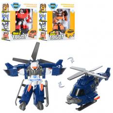 Трансформер 339 (72шт) робот 12см, 3 види (2в- машинка, 1в- вертоліт), в коробці, 15.5-16-7 см