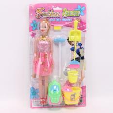 Лялька XJL881-C1 (96шт) 27см, набір для прибирання, на аркуші, мікс кольорів, 19-34.5-4см