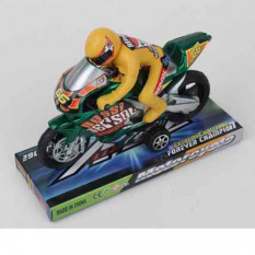 Мотоцикл 66 BR (144шт) інер-й, 16см, фігурка, 2 кольори, в слюді, 19-7,5-13см