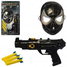 Набір супергероя 5182-3 (24шт) СП, пістолет 30см, маска, кулі 3шт, на аркуші, 52-28-6см