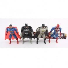 Супергерої 663A-6 (90шт) 2шт (СП, ВМ), світло, 2 види, бат (таб), в кульку, 32-23-2см