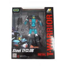 Трансформер J 8018 F (18шт) метал, робот + машинка, 18см, зброю, в коробці, 22-27-10см
