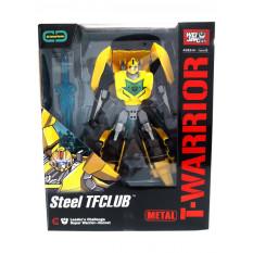 Трансформер J 8018 A (18шт) метал, робот + машинка, 18см, зброю, в коробці, 22-27-10см