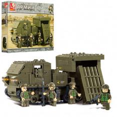 Конструктор SLUBAN M-38-B0303 (16шт), армія, військова машина, фігурки, 314дет, в кор-ке