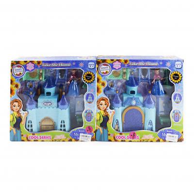 "Замок SG - 2999 AB ""Frozen"", принцеси, в кор-ке"