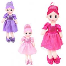 Лялька X 13075 мягконабивна, в кульку