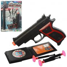 Набір поліцейського A 001 пістолет, на аркуші