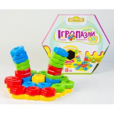 """Розвиваюча іграшка 39315 """"Тигрес"""", """"Ігропазли SUPER"""" 39 ел."""