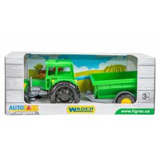 """Трактор 39348 """"Тигрес"""", Фермер з причепом в коробці"""