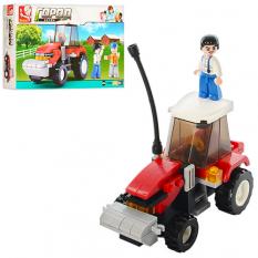 Конструктор SLUBAN M 38 B 0556 ферма, трактор