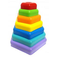 "Развивающая игрушка 39363 ""Тигрес"", ""Пирамидка - радуга"", в коробке"