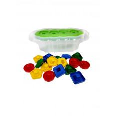 """Розвиваюча іграшка 39519 """"Тигрес"""", """"Магічні фігурки"""" 20 ел. (Світло зелений)"""