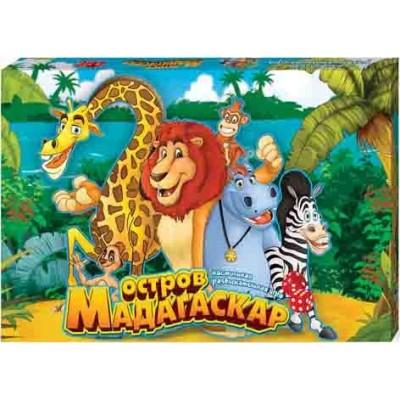 "Гра настільна ""Данко-тойс"" 29212 ""Острів Мадагаскар"", мала"