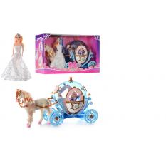 Карета 28911 B карета з лялькою, в кор-ке