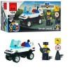 Конструктор BRICK 457796/124 поліцейська машинка