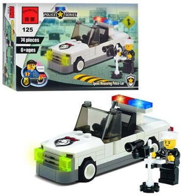 """Конструктор BRICK 457798/125 """"Поліцейська машина"""""""