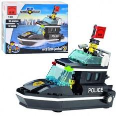 Конструктор BRICK 457830/130 поліцейський катер
