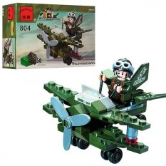 """Конструктор BRICK 804 """"Літак-розвідник"""""""