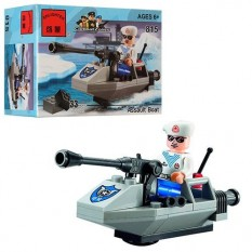 "Конструктор BRICK 815b ""Штурмовий човен"""