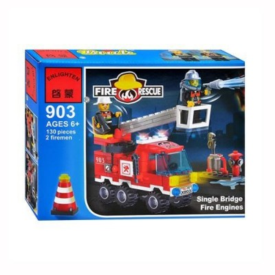Конструктор BRICK 903 пожежна тривога, в кор-ке