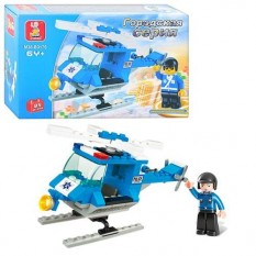 Конструктор SLUBAN M 38 B 0175 поліція, вертоліт