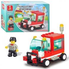 Конструктор SLUBAN M 38 B 0180 пожежна машина
