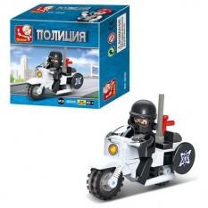 Конструктор SLUBAN M 38 B 0325 поліція, мотоцикл