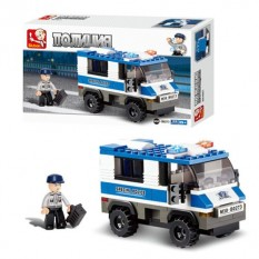 Конструктор SLUBAN M38 - B0273 поліція, машинка, 126 подітий, в кор-ке