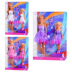 Лялька DEFA 8126 з дочкою, аксесуари, в слюді