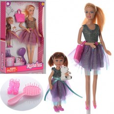 Лялька DEFA 8304 з дочкою, в кор-ке