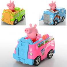 """Машинка XZ - 372-73-74 A """"Peppa Pig"""", в кульку"""