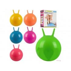 М'яч для фитнеса-45см MS 0380 з ріжками, в кор-ке