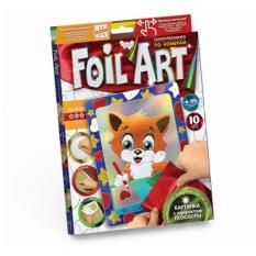 """Набор FAR - 01-01-10 Аплікація кольоровою фольгою """"Foil ART"""""""