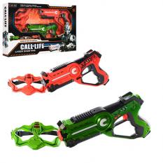 Набір зброї W 7001 D ігровий бій, пістолет в кор-ке