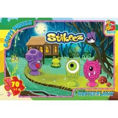 """Пазли 70 эл. """"G-Toys"""" ST 008 """"Stikeez"""", в коробці"""