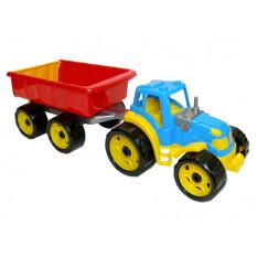 Трактор 3442 з причепом, ТехноК