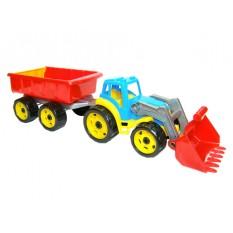 Трактор 3688 ківш з причепом, ТехноК