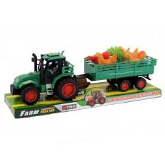 Трактор 922-11 з причепом