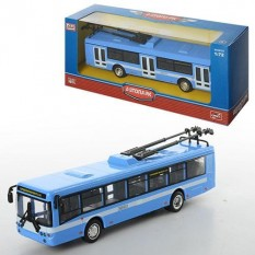 Тролейбус 6407 ABCD металевий, инер-й, в кор-ке