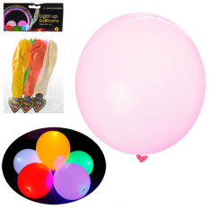 Кульки надувні MK 0389 зі світлом, в кульку