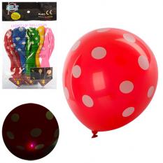 Кульки надувні MK 0892 світло, в кульку