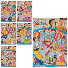 Доктор 601-3-4 (96шт.) Інструменти, 4 види (14и 15 предметів), на картоні, 44,5-31,5-3см
