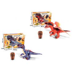 Динозавр 60100-60102 (12шт) р / у, 47 см, зв.,світло, 2 види, на бат-ці, в кор-ці, 48-33-15 см