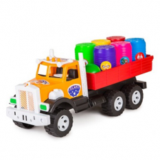 """Вантажівка Фарго 3685 """"BAMSIK"""", вантажівка з діжками"""